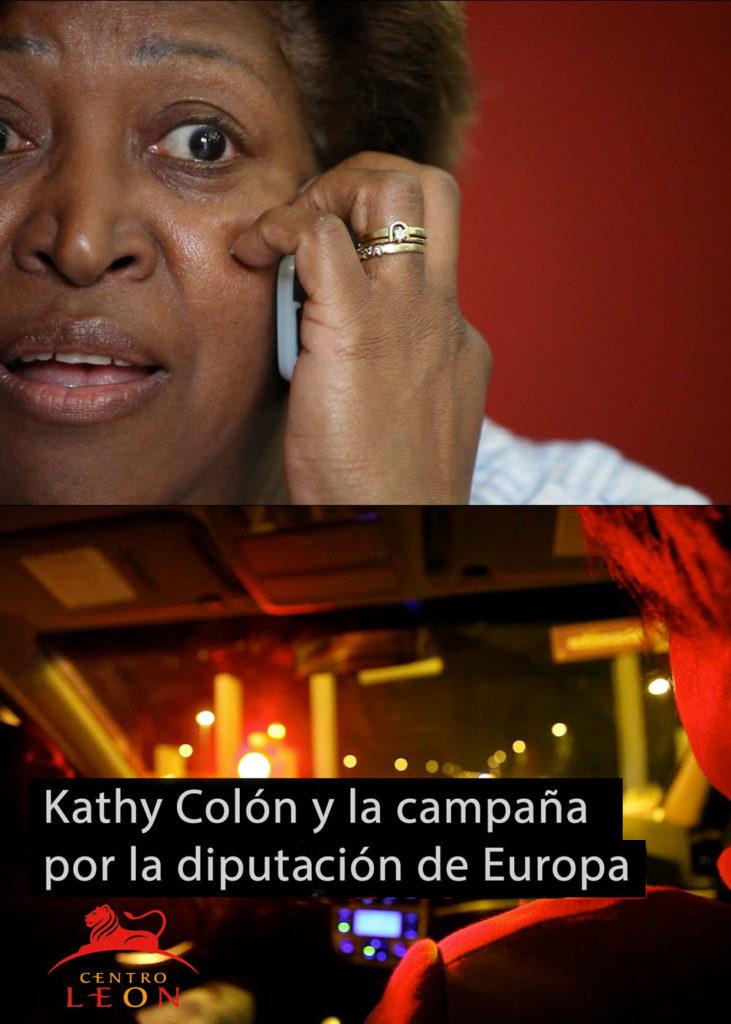 Kathy Colón y la campaña por la diputación de Europa.